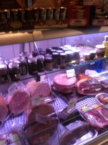 Deli selection at La Salumeria