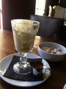 Affogato after