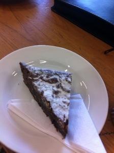 Delicious brownie