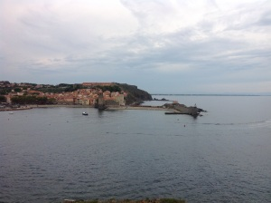 Collioure on the mediterranean